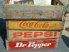Coke and Pepsi cases